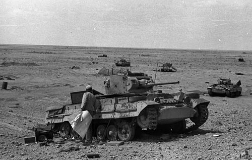 It Was In North Africa Where It Was Fitted With Extra Fuel Tanks To  Increase Its ...