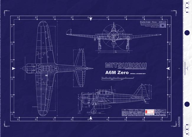 Japanese a6m zero fighter wwii empire of japan malvernweather Images