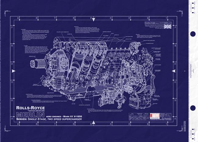 rolls royce merlin 60 series