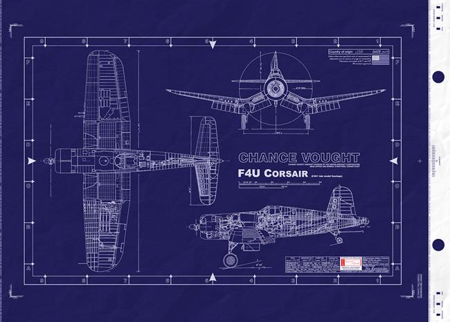 Chance Vought F4u Corsair Wwii Usaaf United States