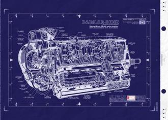Daimler Benz DB 601 engine
