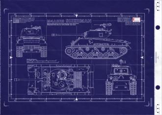 U.S. M4A3E8 Medium Tank Sherman